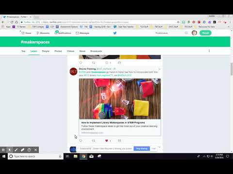 Adding Link to Tweets to Spreadsheet CIET