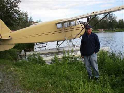Flying to Alaska 2014