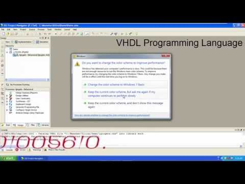 Vhdl Basic Tutorial For Beginners About Logic Gates In Hindi