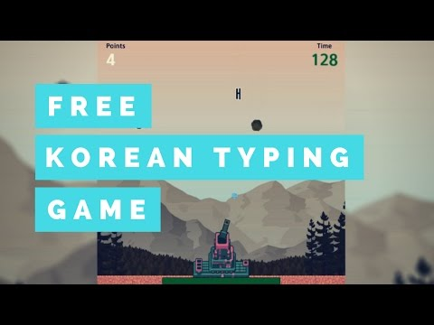 Hangul Attack - Free Korean Typing Game - Updated version in description
