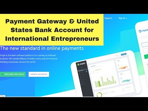 Payment Gateway and US Bank Account for International Shopify Sellers 💰