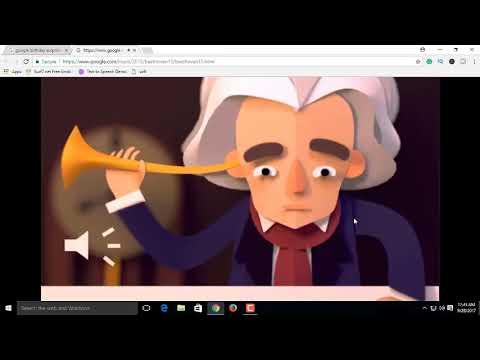 Google birthday surprise. 19TH BIRTHDAY DOODLE