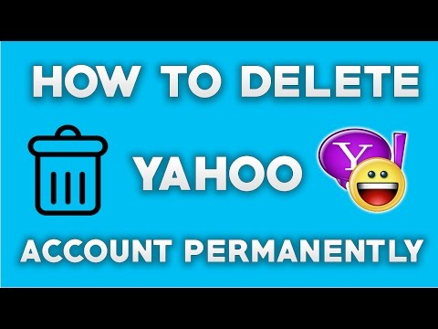 How To Delete Yahoo Account Permanently - 2018