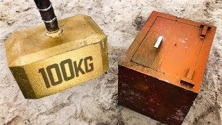 Can THOR'S HAMMER Break Into a 250KG SAFE?