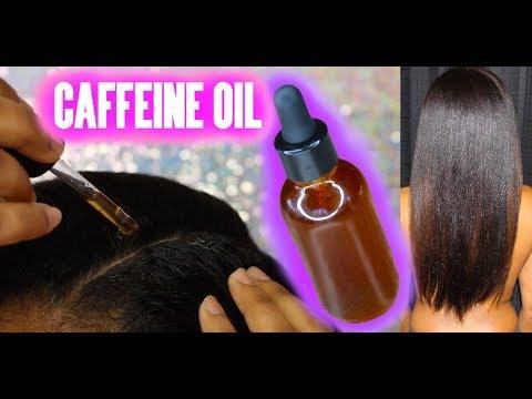 Caffeine Oil | SUPER FAST HAIR GROWTH