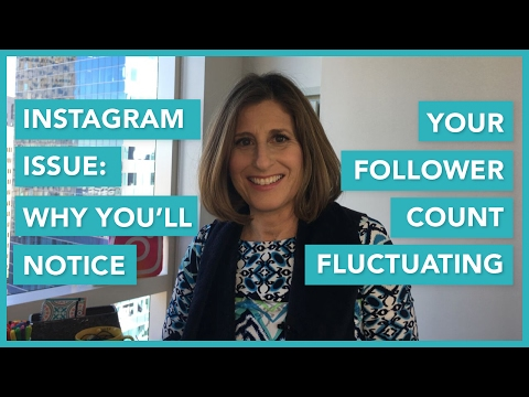 Instagram Issue: Why You'll Notice Your Follower Count Fluctuating