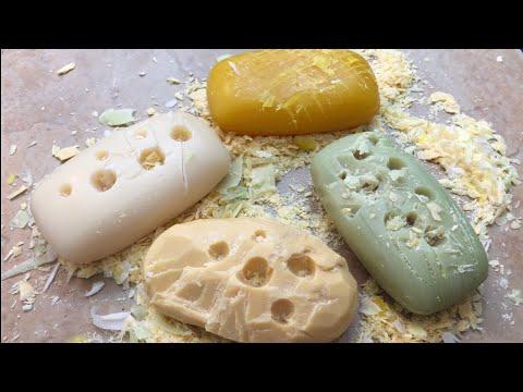 ASMR EXTREMELY Satisfying SOAP CARVING | Binaural
