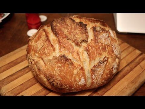 No Knead Bread | Cooking with Mom | Easy Bread Recipe