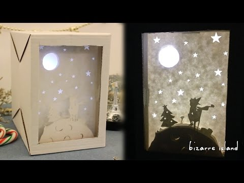 DIY Little Prince inspired Christmas Nightlight | c for craft