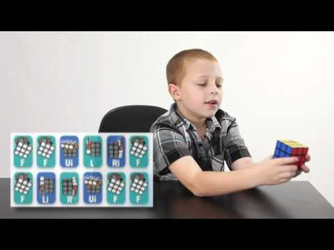A Kid's Guide to Solving the Rubik's Cube