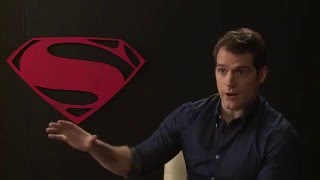 Henry Cavill says his Clark Kent is true to the comics |