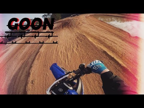 yz250f track wheelies and trails SENDING IT !!!