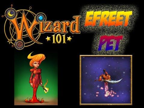 Wizard101- Efreet Pet Quest