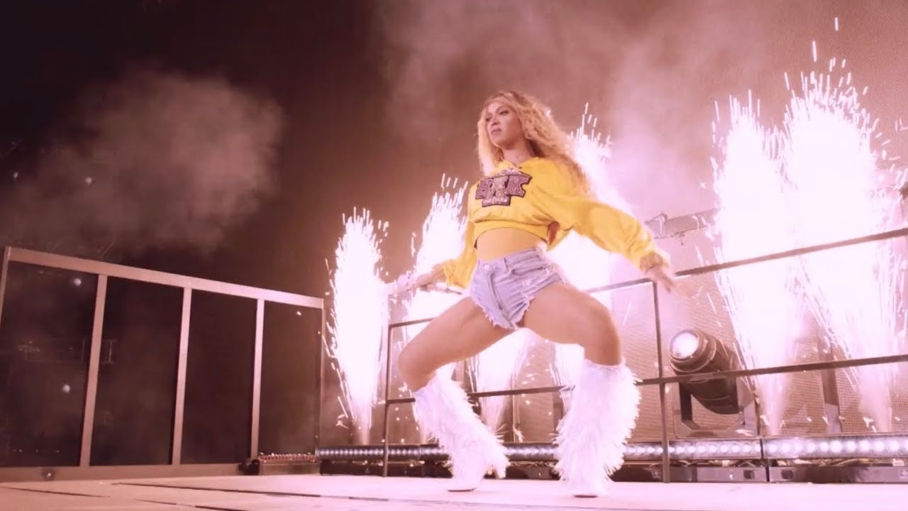 beyoncé outdancing her dancers for 11 minutes and 36 seconds straight