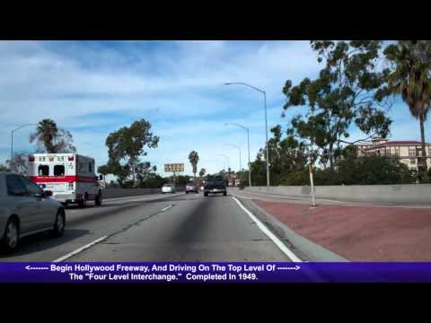 US 101 North (CA), Hollywood Freeway, Downtown LA to North Hollywood