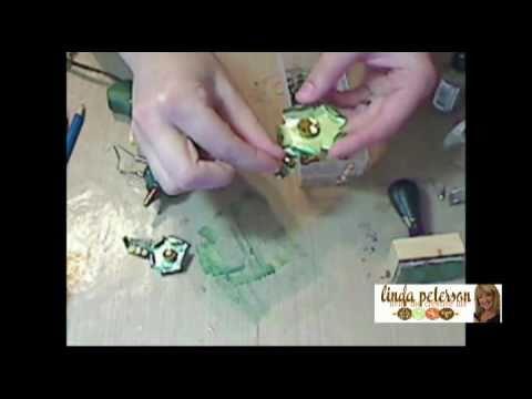 Samantha Star - How to Make a Floral Steampunk Brooch