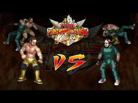 Fire Pro Wrestling World Highlights: Jon Hammer vs Santiago Sangriento