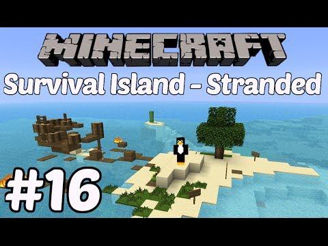 Minecraft: Survival Island - Part 16 - Cobble Castle
