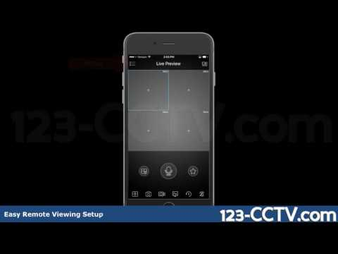 How To Use QR Code To Connect To Your DVR/NVR