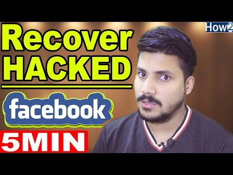 How to Recover  Facebook Account Easily In Hindi Urdu 2018
