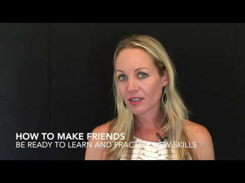 3 Tips for Making Friends