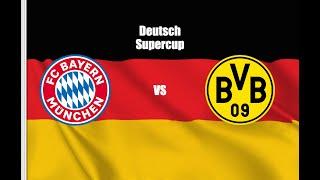 FC Bayern München vs Borussia Dortmund 0-2