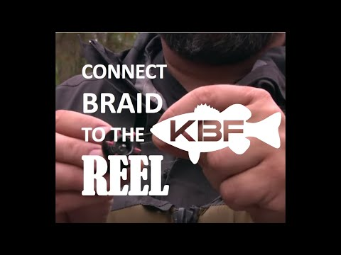 How To Tie Braid Fishing Line to Your Reel