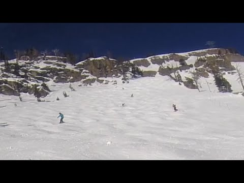 Learn To Snowboard In Bumps or Moguls