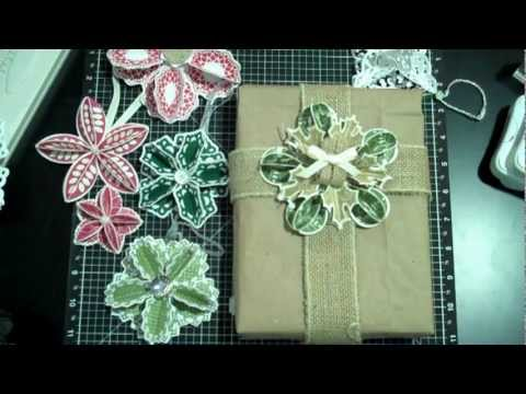 CTMH Cricut Ornaments and Gift Toppers