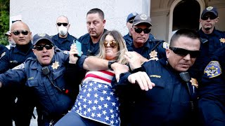 Operation May Day protests California Stay at Home Order