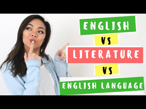 VCE English vs. Literature. vs. English Language | Back to school
