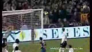 Songname: Calabria - download here: http://www.mediafire.com/?y8qab2vgoevdb2y  A Ronaldinho Gaucho compilation about the most beautiful goals of the Barcelona star. Braziliant!!