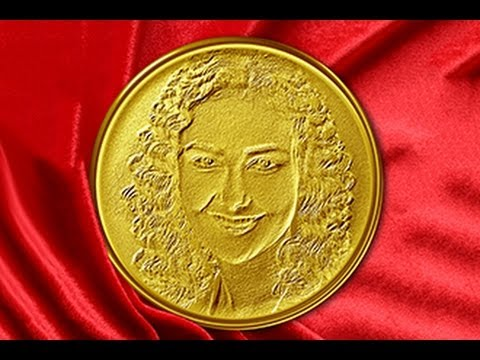 Photoshop Tutorial: How to Make a Custom, GOLD MEDALLION