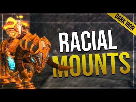 Dark Iron Dwarf Mounts   Class & Paladin Mount
