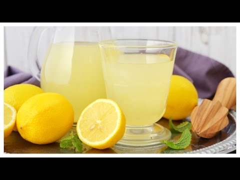 Easy & Refreshing Homemade Lemonade - 3 Ingredient Recipe ♥