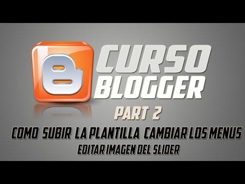 COMO CREAR UN BLOG ESTILO PAGINA WEB PART2