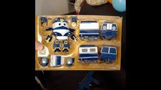 Kay Robot trains jouet et ses wagons