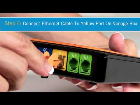 Vonage How-to: Set Up Vonage Box Without Router