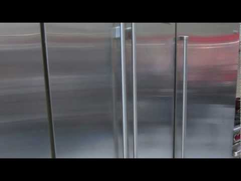 Sub-Zero Bi36UFD French Door Refrigerator: I Love Those Hinges!
