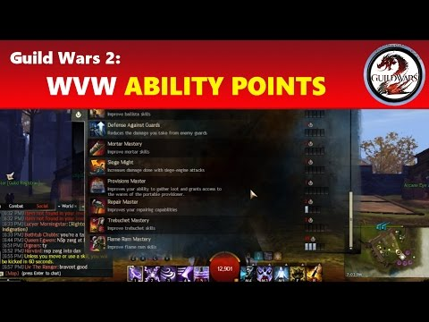 Guild Wars 2: World vs. World (WvW) Ability Points Spending Guide