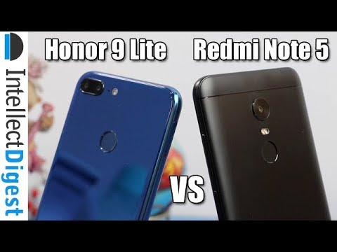 Honor 9 Lite VS Redmi Note 5 Comparison- Which Is Better And Why?