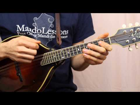 Beginner Mandolin Series (Part 3) - Left Hand Technique