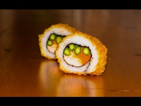 Deep Fried Sushi Roll Recipe - Crispy Tempura Recipe
