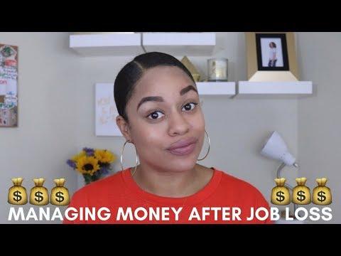 Managing Money After Job Loss   Secret Life of E