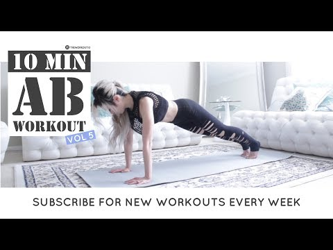 10 Min Intense Ab Workout | Lose Belly Fat Fast | HIIT Abs Workout Routine