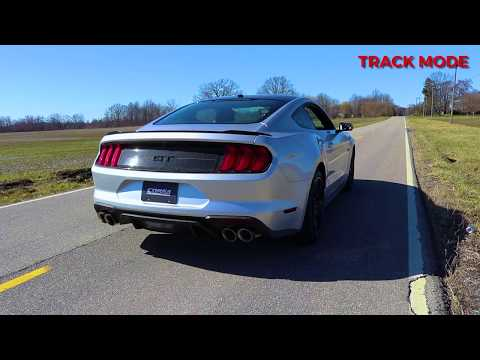2018 Ford Mustang GT Performance Axle-Back Exhaust System Kit Corsa Valves Sport Touring 21002