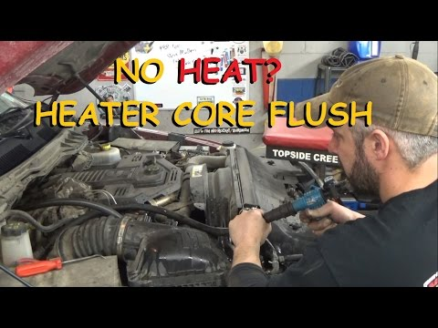 Flushing A Heater Core