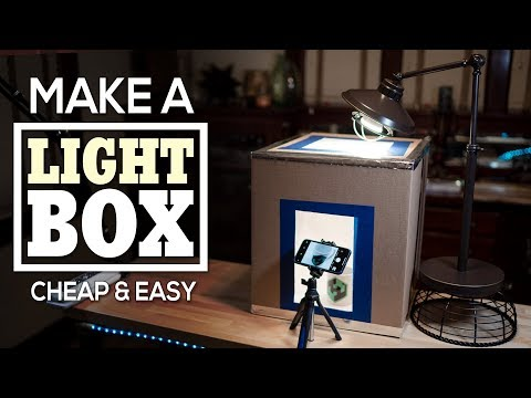 Make A Light Box Cheap & Easy - Take Incredible Photos