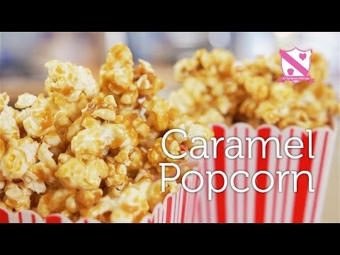 How to make Caramel Popcorn - In The Kitchen With Kate