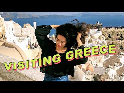 Santorini & Athens | Travel Vlog 🇬🇷